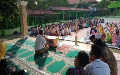 Doa Bersama sebelum UNBK